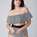Lane Bryant Strapless Off-the-Shoulder Bikini