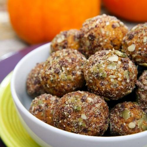 Chocolate Chip Pumpkin Pie Protein Balls