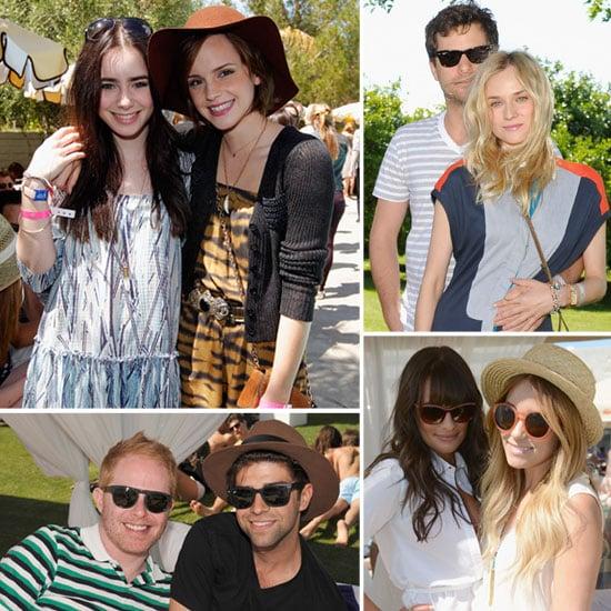 Emma Watson, Kate Bosworth And More: Celebs Go Poolside at Coachella
