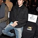 Justin Bieber at NYFW