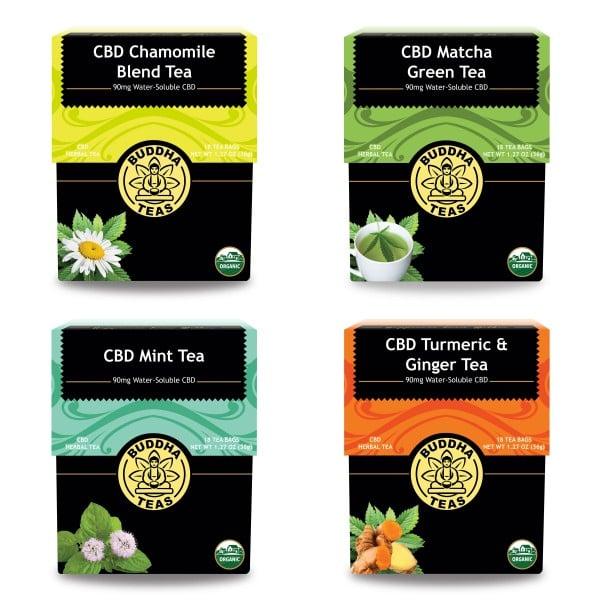 Buddha Teas CBD Tea Bundle | Best CBD Gifts | POPSUGAR Fitness UK