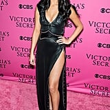 On the Pink Carpet For the Victoria's Secret Fashion Show in November 2015