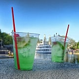 The mint juleps you can sip on in New Orleans Square.