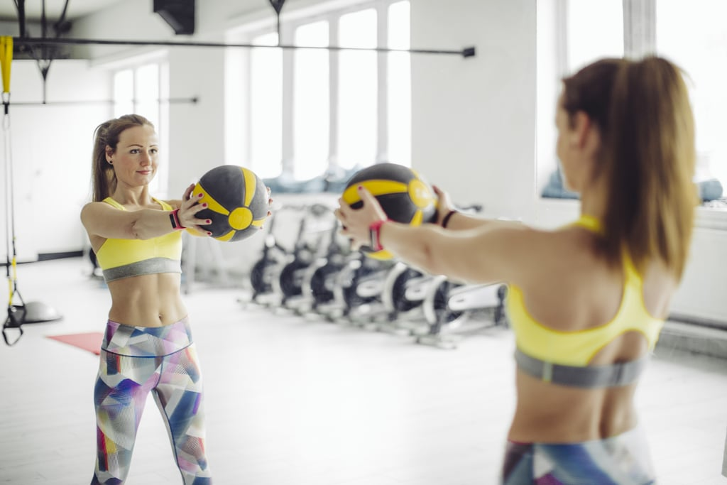 8 Exercises That Will Shred Your Abs With a Single Medicine Ball