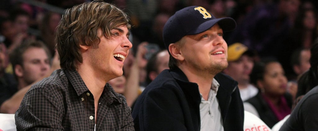 Zac Efron Shares a Random (but Awesome) Throwback With Leonardo DiCaprio