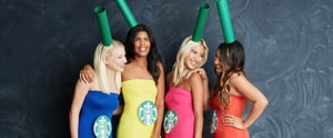 Starbucks Rainbow Drinks Are THE Group Costume For Girlfriends