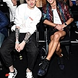 Pete Davidson and Frankie Grande
