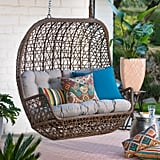Belham Living Rayna All Weather Wicker Loveseat Porch Swing