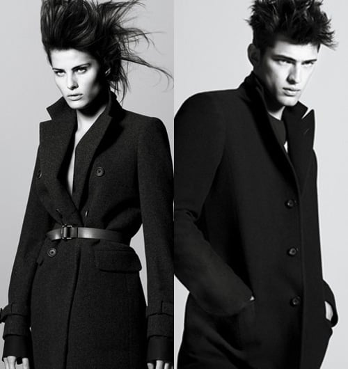 Isabeli Fontana for J by Jil Sander for UniQLo Ad