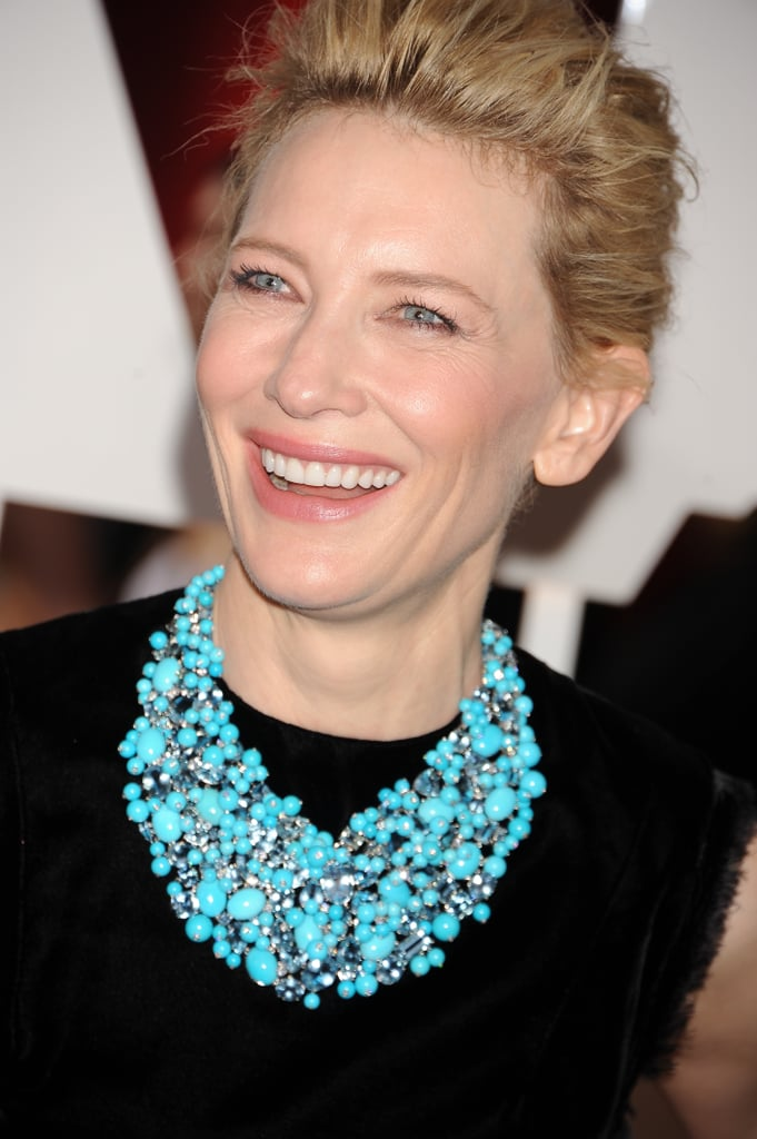 Cate Blanchett's Tiffany & Co. Necklace in 2015