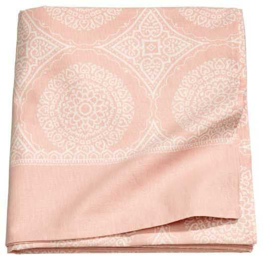 Patterned Tablecloth ($18)