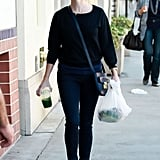 Reese Witherspoon running errands in LA.