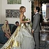Jenny Humphrey (Taylor Momsen) and Eric van der Woodsen (Connor Paolo) return to Gossip Girl.