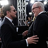 Leonardo DiCaprio and John Lithgow at the 2020 SAG Awards