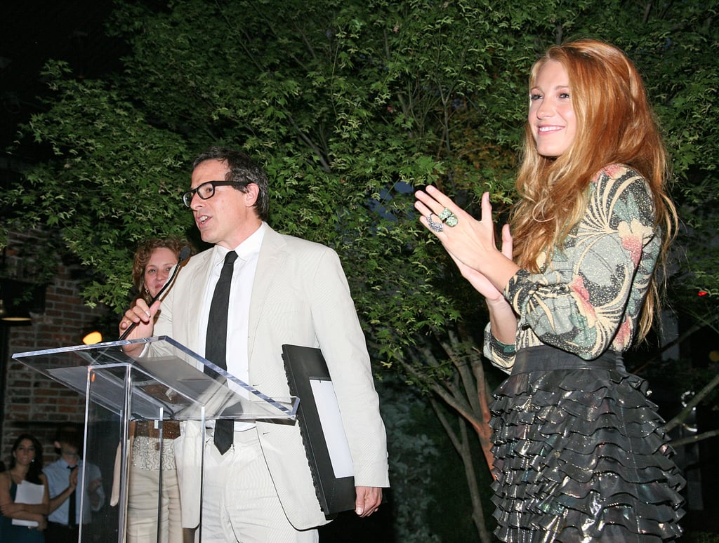 Blake Lively Goes Short For a NYC Event Without Leonardo DiCaprio