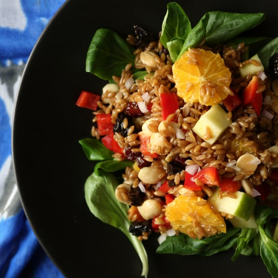 Vegan Farro Salad Recipe