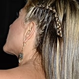 A look at Jennifer Aniston's Guys Choice Awards braid from the side.