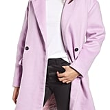 Leith Oversize Double-Breasted Coat