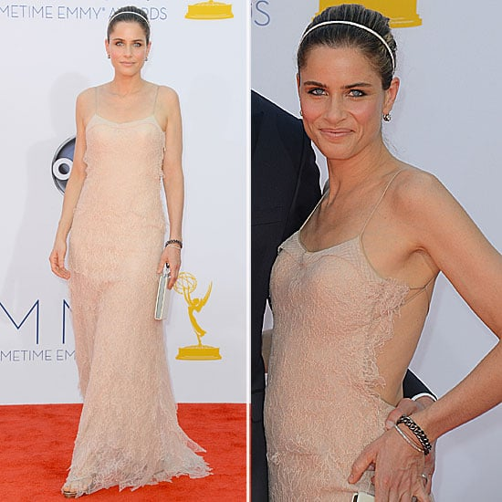 Amanda Peet at the Emmys 2012