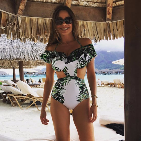 Sofia Vergara's One-Piece Swimsuits December 2016