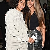 Beyonce and Solange Knowles at Met Gala Afterparty 2016