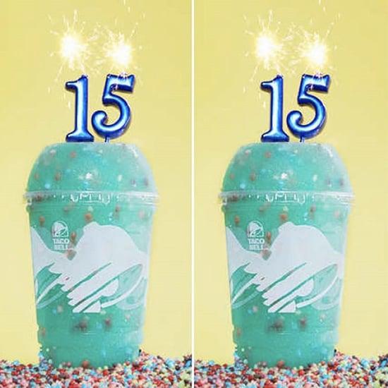 Taco Bell Introduces Baja Blast Birthday Freeze Drink
