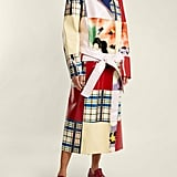 Marni Patchwork Belted Leather Coat