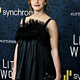 Pictured: Emma Watson at the Little Women world premiere.