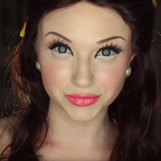 Scary Belle Halloween Beauty DIY