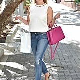 Casual Friday? Balance Out Jeans With a Modest Top