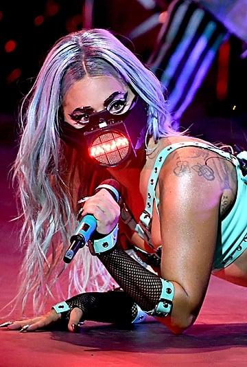 Lady Gaga's Face Masks at the MTV VMAs 2020