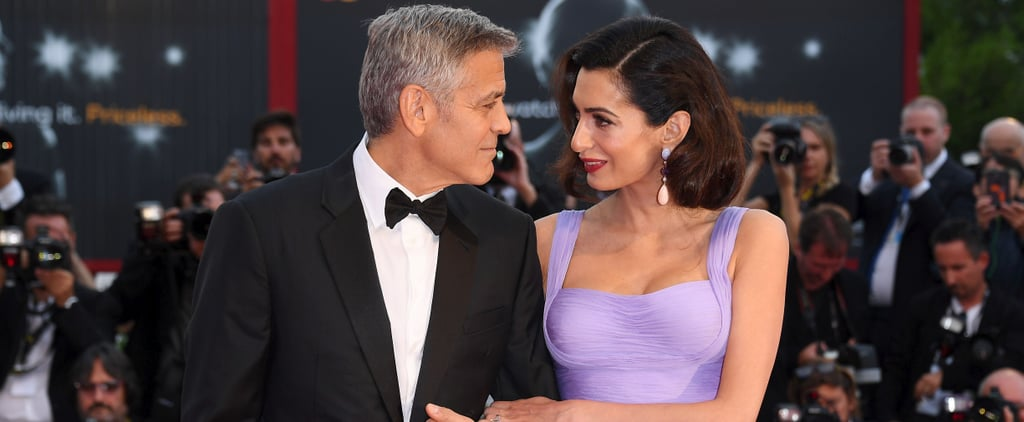 George and Amal Look So in Love During Their First Public Appearance Since Becoming Parents
