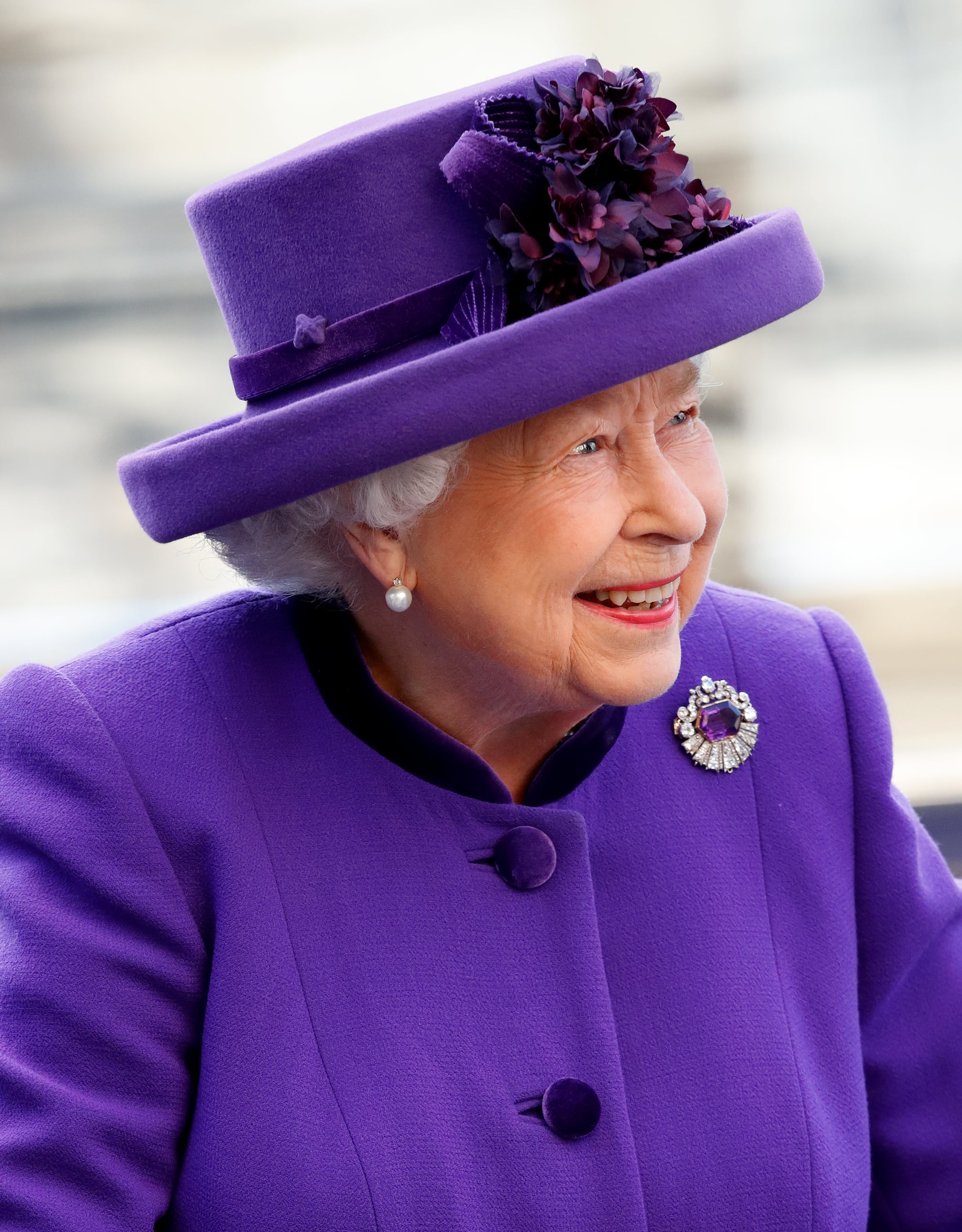 LONDON, UNITED KINGDOM - MARCH 11: (EMBARGOED FOR PUBLICATION IN UK NEWSPAPERS UNTIL 24 HOURS AFTER CREATE DATE AND TIME) Queen Elizabeth II attends the 2019 Commonwealth Day service at Westminster Abbey on March 11, 2019 in London, England. (Photo by Max Mumby/Indigo/Getty Images)