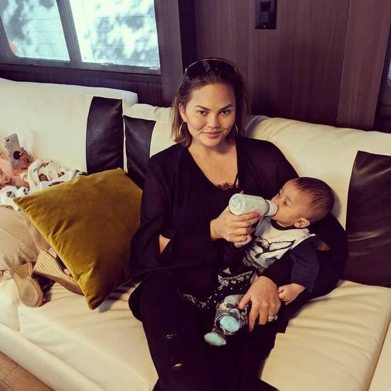 Chrissy Teigen Shuts Down Breastfeeding Shamers