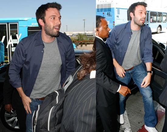 Photos of Ben Affleck Arriving at LAX