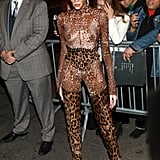 Winnie Harlow Leopard Met Gala Afterparty Outfit 2019