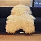 World of Leather Biggest  Soft and Silky  Icelandic Sheepskin Rug