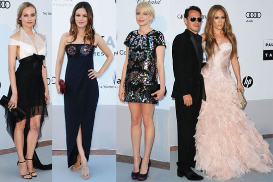 Pictures of Paris Hilton, Michelle Williams, Diane Kruger And More at The 2010 AmfAR Benefit at Cannes