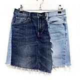 Grant Blvd Distressed Jean Skirt