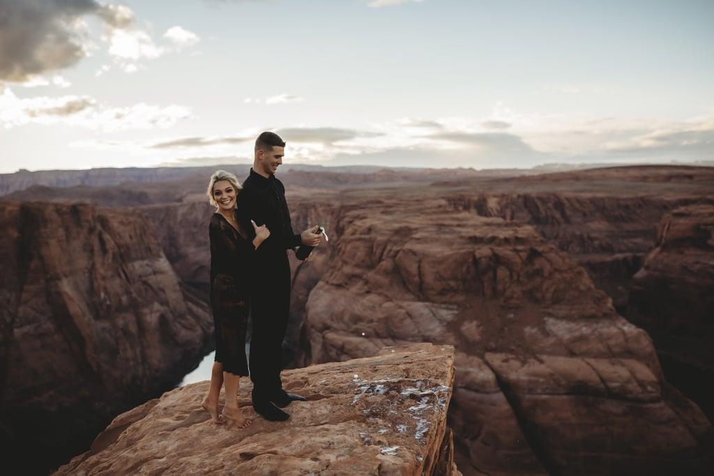 Sexy Couples Canyon Photo Shoot