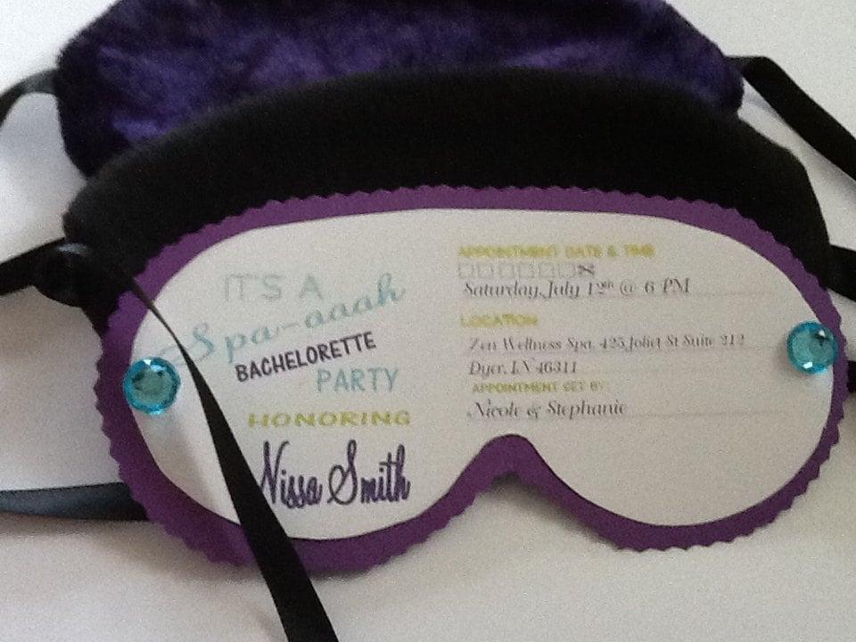 Eye Mask Invites
