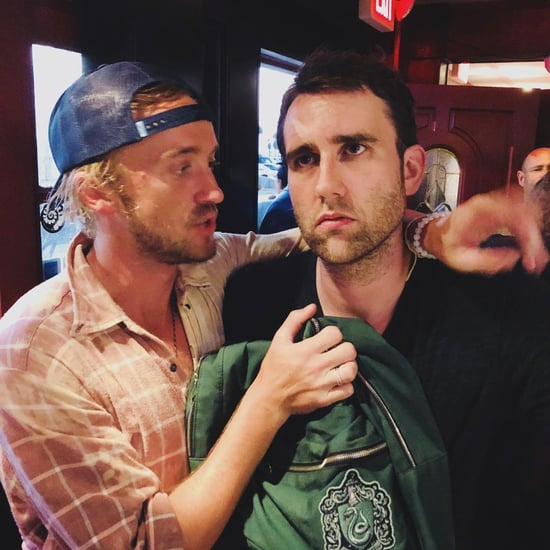 Matthew Lewis and Tom Felton Reunited August 2018