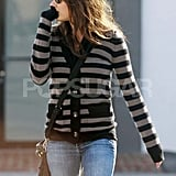 Mila Kunis Celebrates Her Hot Hollywood Status at Lunch