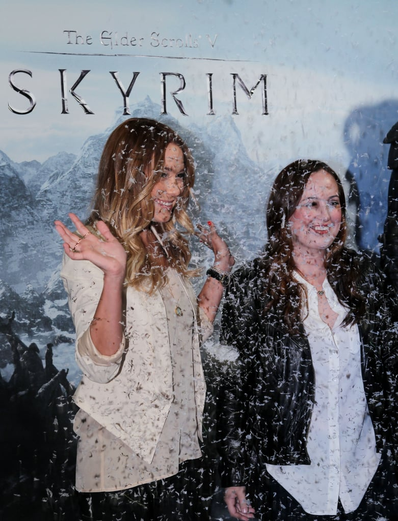Lauren Conrad stepped out for the launch of Elder Scrolls V: Skyrim video game.