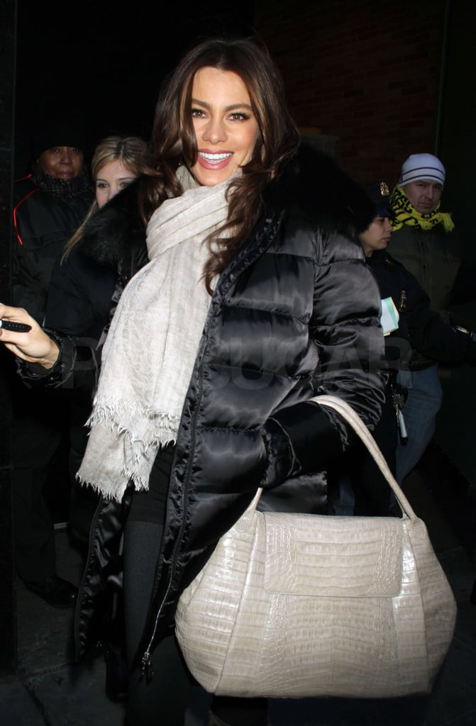 Pictures of Sofia Vergara Stopping by Good Morning America