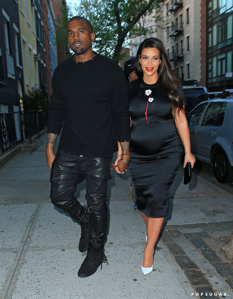 Kim Kardashian celebrated Cinco de Mayo in NYC with two of her favorite guys — Kanye West and best friend Jonathan Cheban. She wore a sheer black dress to grab lunch with Jonathan and designer Rachel Roy at an eatery in the city but later changed into a clingy satin LBD to reunite with Kanye for a meeting with Anna Wintour. Kim and Kanye reportedly had dinner with Anna ahead of tonight's Met Gala, where Kanye will reportedly perform. Before landing in the Big Apple, Kim visited a Sears store in Houston on Saturday to promote her Kardashian Kollection with her sisters. It's been a whirlwind few weeks of travels for Kim, who recently went to Greece, Paris, London, and NYC in just one week.