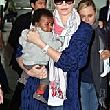 Charlize Theron Adopts