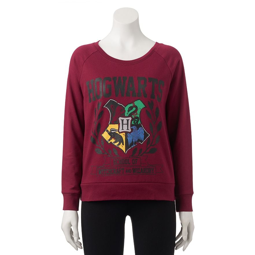 Hogwarts Crest Sweatshirt ($21, originally $30)