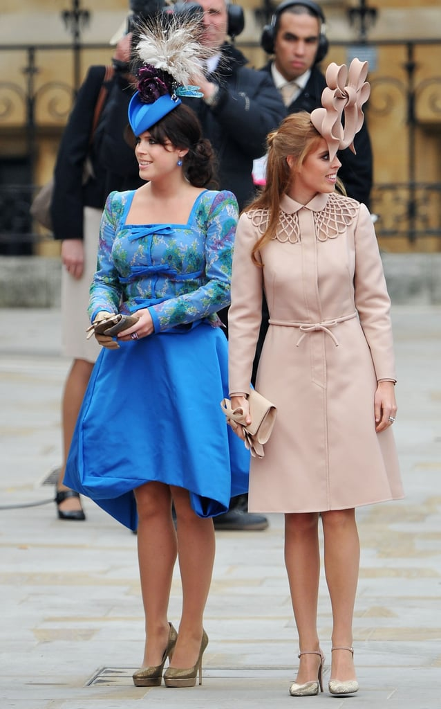 Princess Beatrice Wearing Her Valentino Heels to William and Kate's Wedding