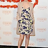 January Jones wore Sami & Lavi at Coach's third annual Evening of Cocktails and Shopping in Santa Monica.